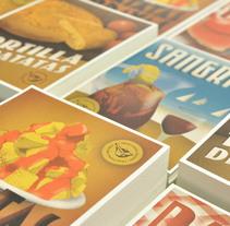 Traditional recipes postcards. Un proyecto de Diseño gráfico y Diseño de producto de Yema  - 23-07-2014