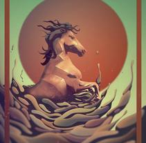 A Galopar. Um projeto de Ilustração de Cristian Eres         - 29.07.2014