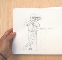Caricatura. Un proyecto de Ilustración de MARÍA PEQUEÑO         - 03.07.2014