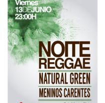 Noite Reggae. A Graphic Design project by Lucía López Fraga         - 06.08.2014