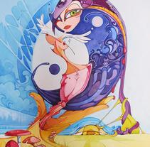 Amaltea. Un proyecto de Ilustración, Bellas Artes y Diseño gráfico de Carolina Motta         - 11.08.2014