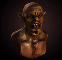Monster. A 3D project by Gabriel Nieto         - 11.08.2014