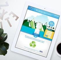 Landing Page. Um projeto de Design, Direção de arte e Web design de Esther HIJANO MUÑOZ - 12-08-2014