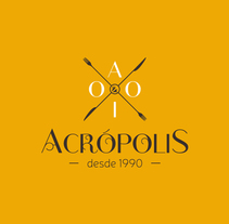 Logotipo Acrópolis. A Br, ing, Identit, and Graphic Design project by Iván  Castaño Castaño - Aug 14 2014 12:00 AM