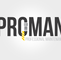 Logo Proman. A Br, ing, Identit, and Graphic Design project by Mariana Vidal Perez         - 23.06.2014