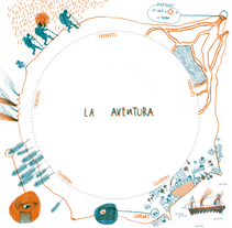 Viaje al centro de la tierra (Fanzine Edition). A Illustration project by Paloma Corral - 18-08-2014