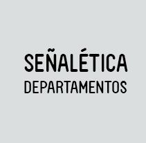 Señalética Oficina. Um projeto de Design, Instalações, Design gráfico e Design de informação de Eva  G. Navarro - 18-08-2014