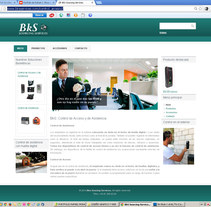 Website corporativo de BKS SERVICES. A Web Design project by Rafael J. Mora Aguilar         - 06.07.2014