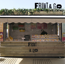 Fruit&Go, Pop-up Store. A Br, ing&Identit project by Floriane Jambu         - 24.08.2014