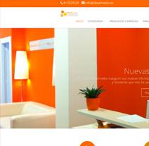 Web Idealmedia . A Design project by Carlos Cano Santos - Aug 26 2014 12:00 AM