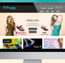 Tienda Online OnSandals. A Web Design, and Web Development project by Mokaps          - 26.08.2014