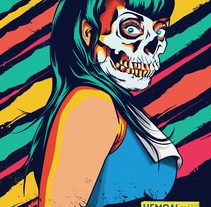 hemoal forte. A Illustration, Advertising, Fashion, Graphic Design, and Screen-printing project by Israel  Delgado Blanco - 01-09-2014