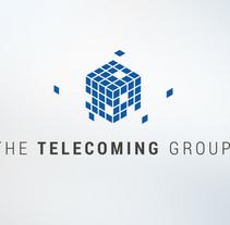 Imagen Corporativa The Telecoming Group. Um projeto de Br, ing e Identidade e Design gráfico de Marta Solis         - 02.09.2014