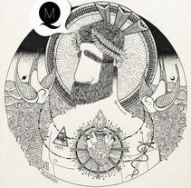 """""""SAGRADO CORAZÓN"""".. A Illustration project by Álvaro Parra Romo         - 04.09.2014"""