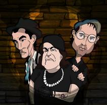 Los Fratellis. Un proyecto de Ilustración de Sergio Rodríguez Rodríguez         - 17.09.2014