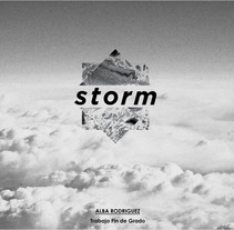 Storm_ Generación de concepto y primer prototipo de interacción . Um projeto de Design, Br, ing e Identidade, Design gráfico, Design industrial e Design de produtos de Alba Rodríguez         - 22.09.2014