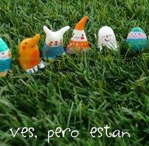 Los 6 enanitos : proyecto con porcelana fría. Un proyecto de Diseño de personajes y Diseño de producto de Ana  - 29-09-2014