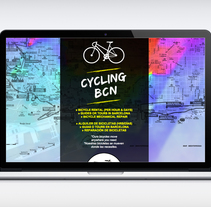 WEB CYCLINGBCN.COM. A Graphic Design, and Web Design project by odi bazó - Oct 01 2014 12:00 AM