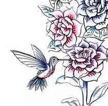 Garden. Um projeto de Design, Ilustração e Design de produtos de Estrella A.C         - 02.10.2014