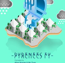 Pyrénées FY. Um projeto de Design editorial, Design gráfico, Tipografia e Web design de Mr. Zyan         - 31.01.2015