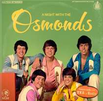 The Osmonds. A Graphic Design project by Alberto Álvarez - 10.08.2014