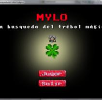 Mylo - La busqueda del trébol mágico. Um projeto de Design de jogos de Luciano De Liberato         - 12.10.2014