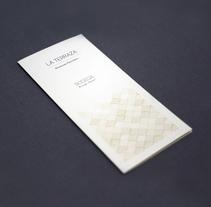 Cartas de bodega, restaurante La Terraza. A Design, and Graphic Design project by Laura Sarrió         - 13.10.2014