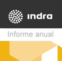 Desarrollo WEB: Indra, informe anual 2012. A Web Development project by Esther Amil         - 30.09.2013