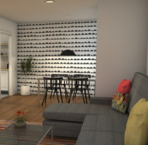 El nuevo piso de Christina y su familia. A Design, 3D, Creative Consulting, Design Management, Furniture Design, Interior Architecture&Interior Design project by Teresa Bermejo Villaverde         - 14.10.2014