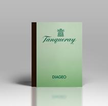 Tanqueray · Ten Commandments. Un proyecto de Diseño editorial y Packaging de Bruno Mayol         - 31.12.2011