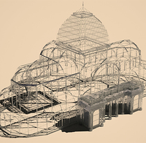 Serie 2_ Palacio de Cristal: Texturizados. A Design, 3D, Architecture, and Graphic Design project by Alvaro Simón Merino - 19-10-2014