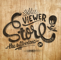 ViewerStore.net. A Illustration, Screen-printing, T, and pograph project by Javi  Viewer - 07-09-2014