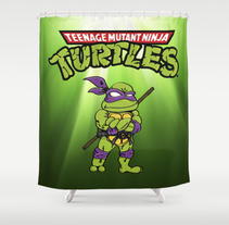 Merchandising Ninja Turtles. A Illustration project by Jose Cañete Campin         - 25.10.2014