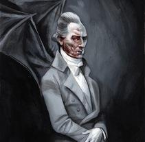 Drácula de Bram Stoker - Edición Ilustrada. A Illustration project by Fernando Vicente - 26-10-2014
