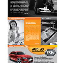 Lease Plan. Newsletter. A Art Direction, and Graphic Design project by Patricia Berthier         - 28.10.2014