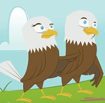 Eaglets . Un proyecto de Ilustración de Kathy Lea Moyou         - 30.10.2014
