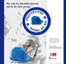 Propuesta Campaña Riesgos Laborales 2007. Un proyecto de Dirección de arte de Beatriz Menéndez López - Sábado, 03 de noviembre de 2007 00:00:00 +0100