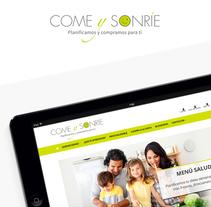 Come y Sonríe. A Graphic Design, and Web Development project by Ester Vives Invernon         - 05.11.2014