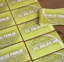 Tarjeta de visita — Entrenador de tenis. A Br, ing, Identit, Graphic Design, and Marketing project by Miguel Ángel Reino         - 14.11.2012