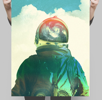 Discoposters II. Un proyecto de Bellas Artes, Collage, Dirección de arte y Diseño gráfico de Fran Rodríguez - Jueves, 20 de noviembre de 2014 00:00:00 +0100