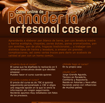 Panesonline curso. A Editorial Design, and Graphic Design project by Soraya  Rivas - 19-11-2014