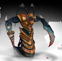 Personaje 3d. A 3D project by Yordany Ovalle Muñoz         - 20.11.2014