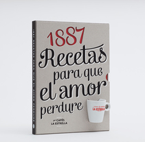 1887 recetas para que el amor perdure. A Illustration, Art Direction, Editorial Design, Cooking, Graphic Design, Packaging, T, pograph, and Writing project by Héctor Rodríguez - 13-02-2013