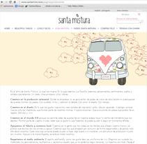 Diseño Web Santa Mistura. Un proyecto de Br, ing e Identidad, Diseño gráfico y Diseño Web de irene cruz cano - Domingo, 25 de noviembre de 2012 00:00:00 +0100