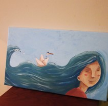 El marinero enamorado. Un proyecto de Ilustración de Anne Derenne         - 30.11.2014