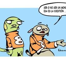 Monigotes. Un proyecto de Ilustración, Diseño de personajes y Comic de Rafa Hernández - 07-04-2012