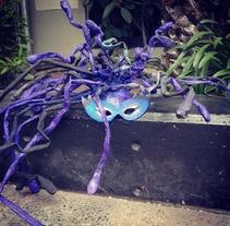 Máscara De Medusa. A Design project by Cindy Carvajal         - 07.12.2014