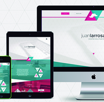 Identidad en web, tablet y móvil.. A Br, ing&Identit project by Juan Larrosa         - 14.12.2014