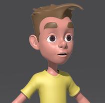 Modelado de Personaje  para un corto de animación.. A 3D, Animation, and Character Design project by José Manuel Claro Salguero - 31-10-2014