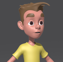 Modelado de Personaje  para un corto de animación.. Um projeto de 3D, Animação e Design de personagens de José Manuel Claro Salguero         - 31.10.2014